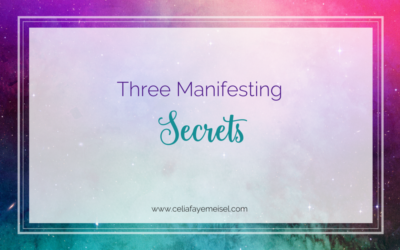 Three Manifesting Secrets
