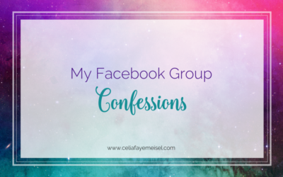 My Facebook Group Confessions…