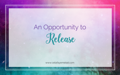An Opportunity to Release