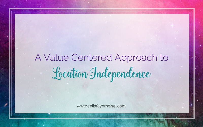A Value Centered Approach to Location Independence