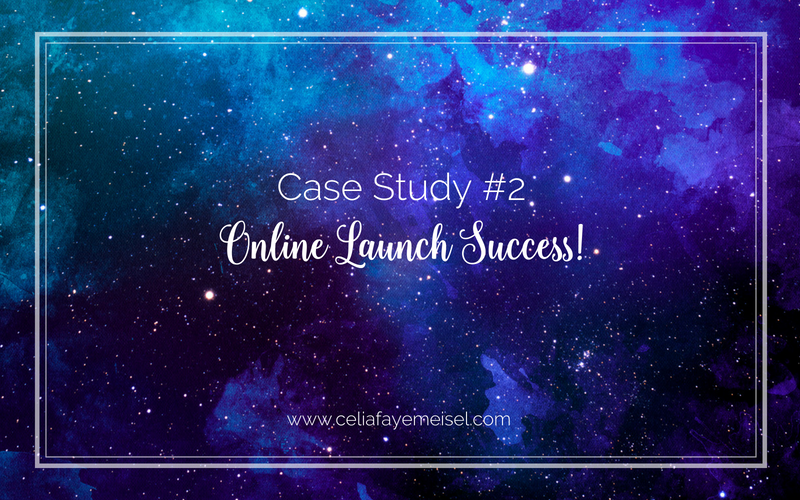 Case Study #2: Online Launch Success!