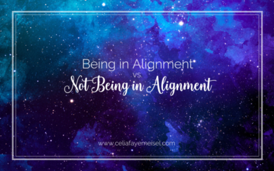 Being in Alignment vs. Not Being in Alignment