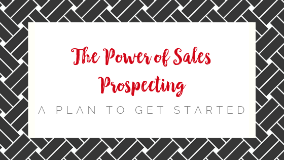 The Power of Sales Prospecting