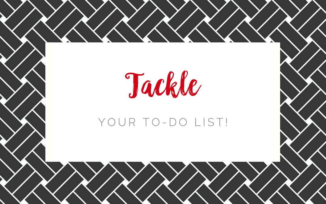 Tackle Your To-Do List!